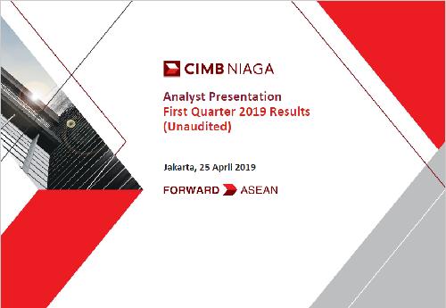 Analyst Presentation 1Q2019